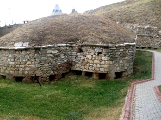 Фрагмент от крепостна система в град Одрин