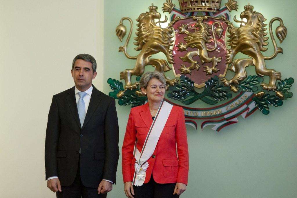 Г-н Росен Плевнелиев и г-жа Ирина Бокова