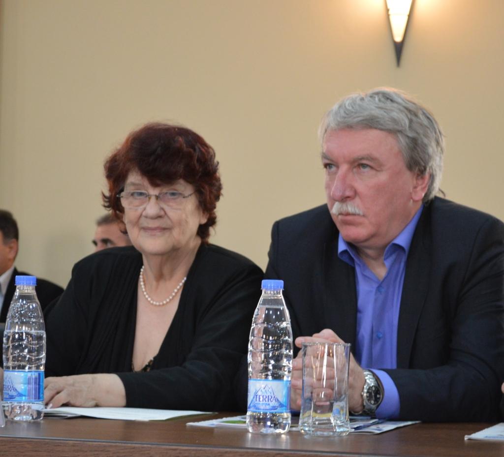 проф. д.и.н. Виолета Нешева и инж. Митя Димитров