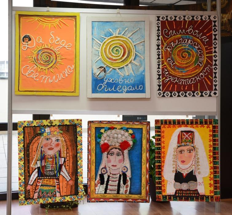 Изложба на детски рисунки