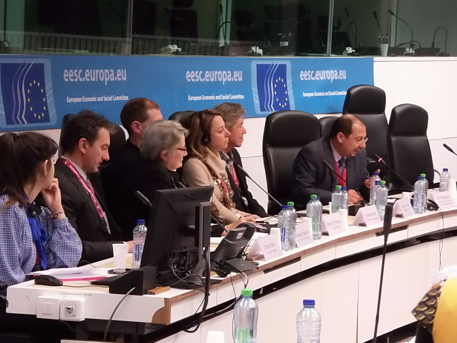 Mr. Ivan Karagiozov speaks during the third plenary session of the conference