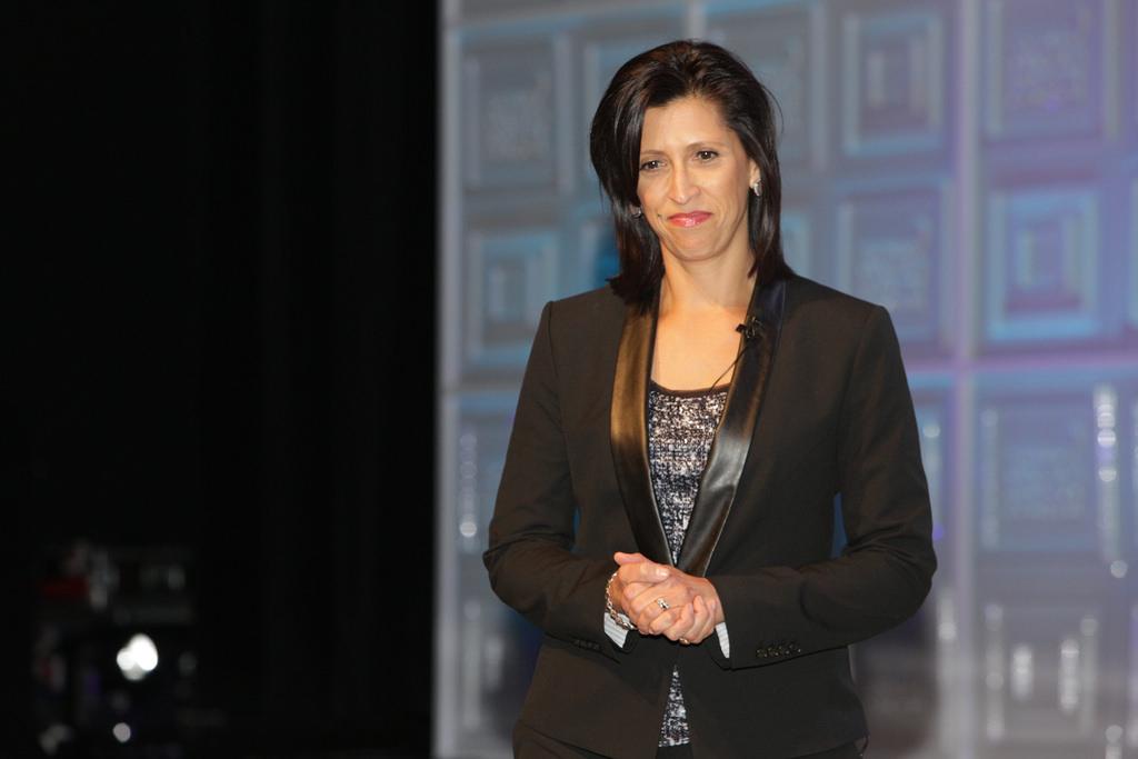 Г-жа Валери Сегара - спонсор Destination Award