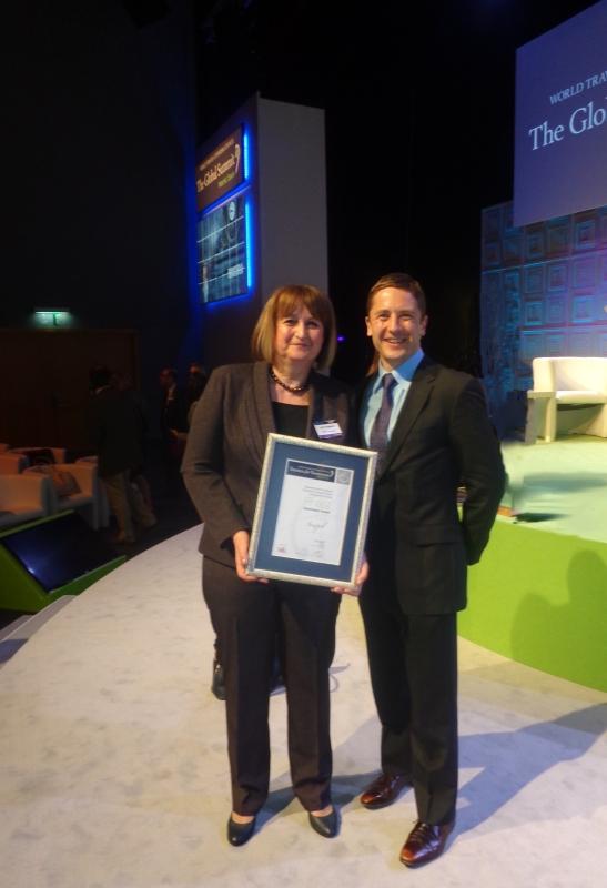 Mr. Graham Miller - Awards Lead Judge and Ms. Lyubov Draganova – representative of Sozopol Foundation