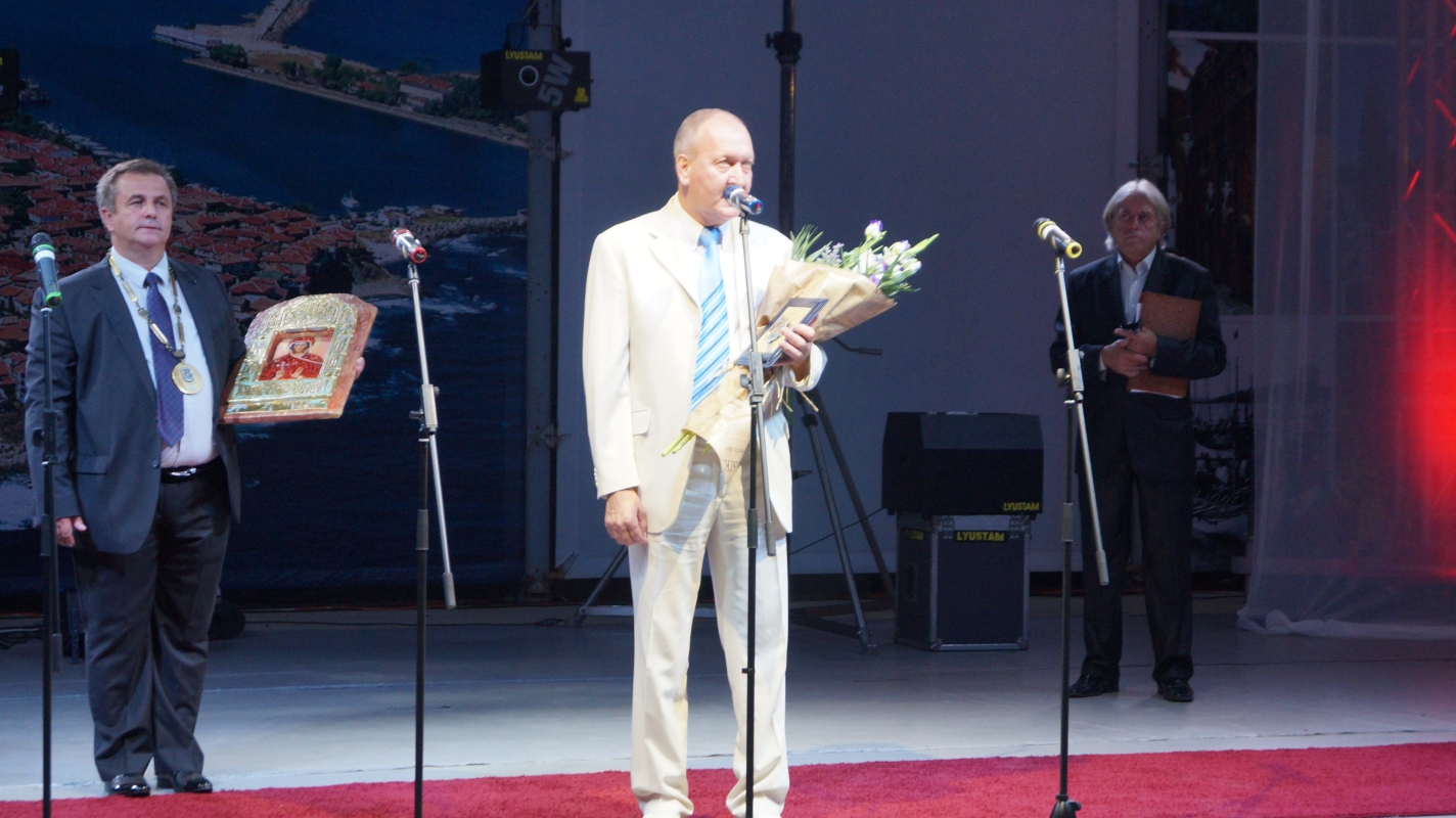 The Chairman of the Sozopol Foundation received recognition for his activity, being awarded the title