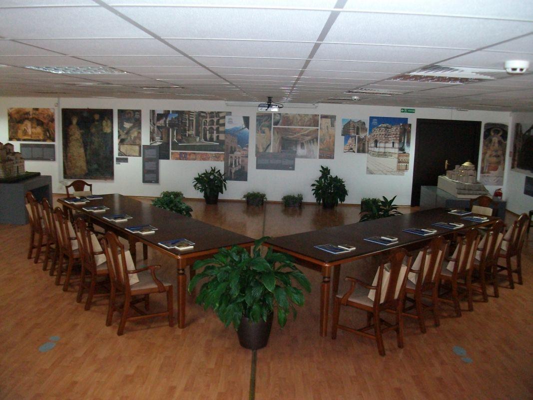 Залата в която ще се проведе заседанието на Комитета за връзка НПО-ЮНЕСКО