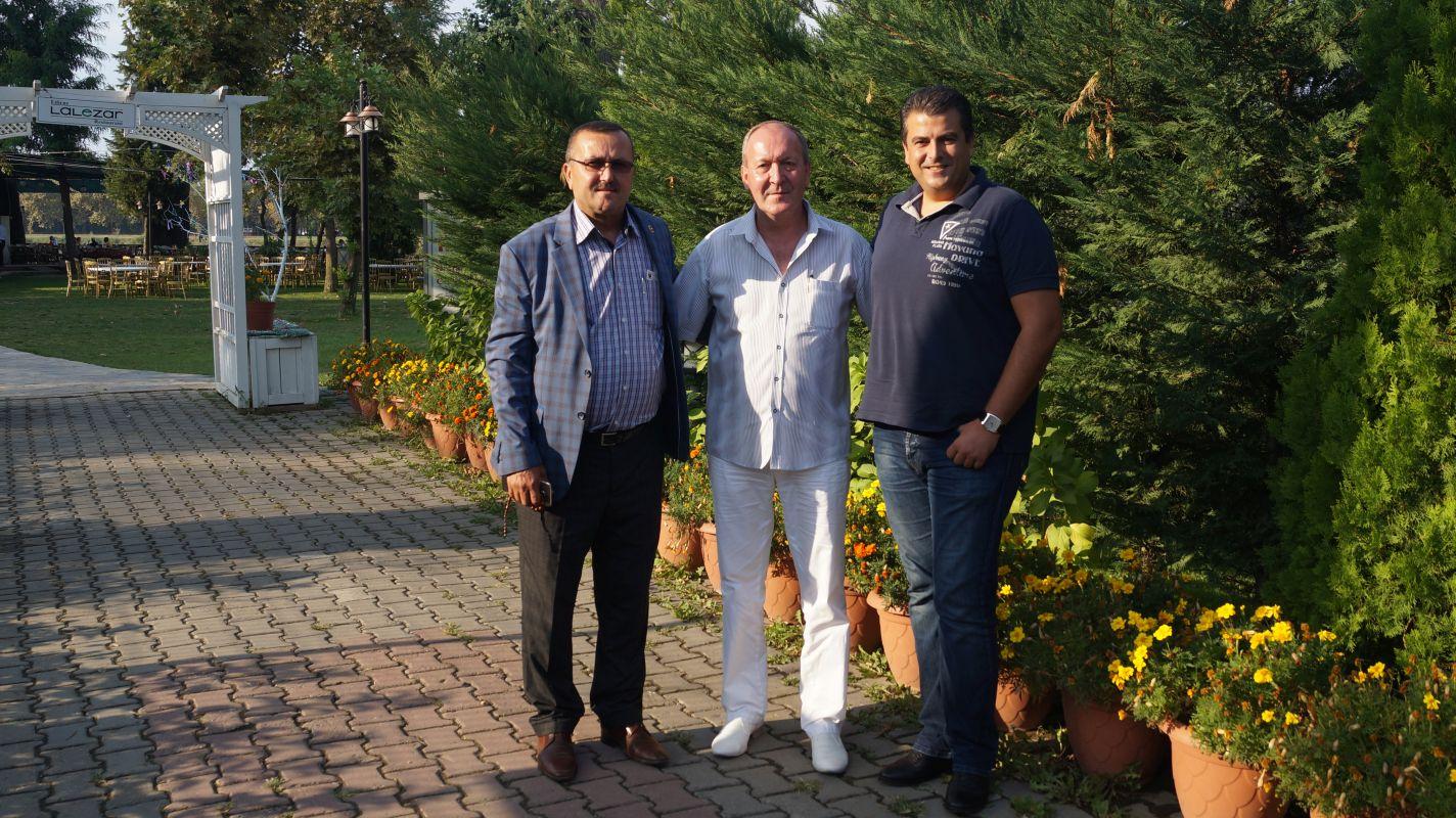 Herr Mustafa Suicmez, Herr Kiril Arnautski und Herr Senol Filiz