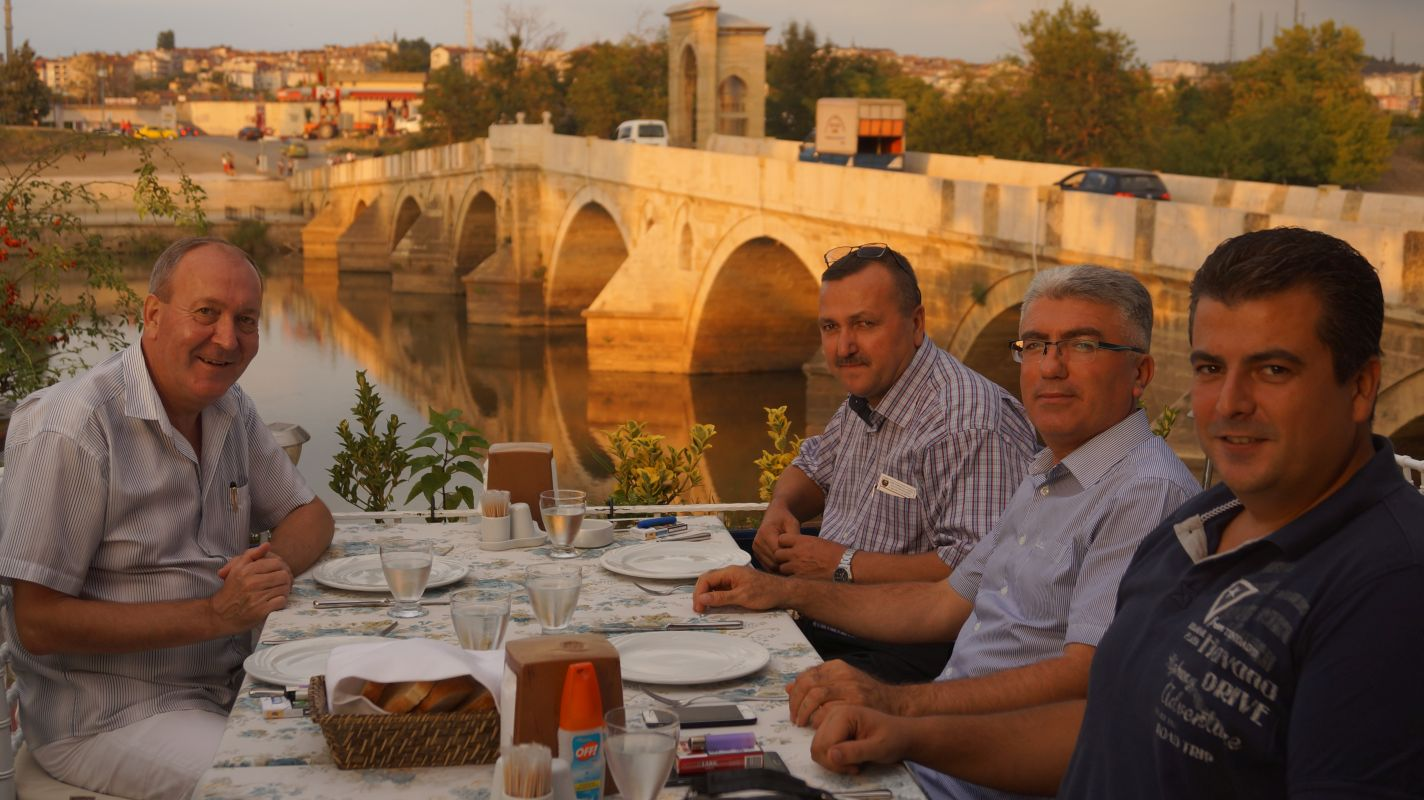 Herr Kiril Arnautski, Herr Mustafa Suicmez, Herr Erol Eser und Herr Senol Feliz