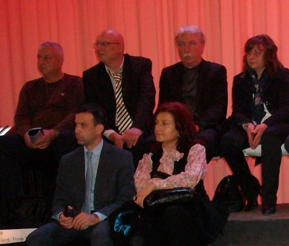Г-н Кирил Котев – кмет на община Сандански, г-н Антон Ковачев, г-н Митя Димитров и други гости