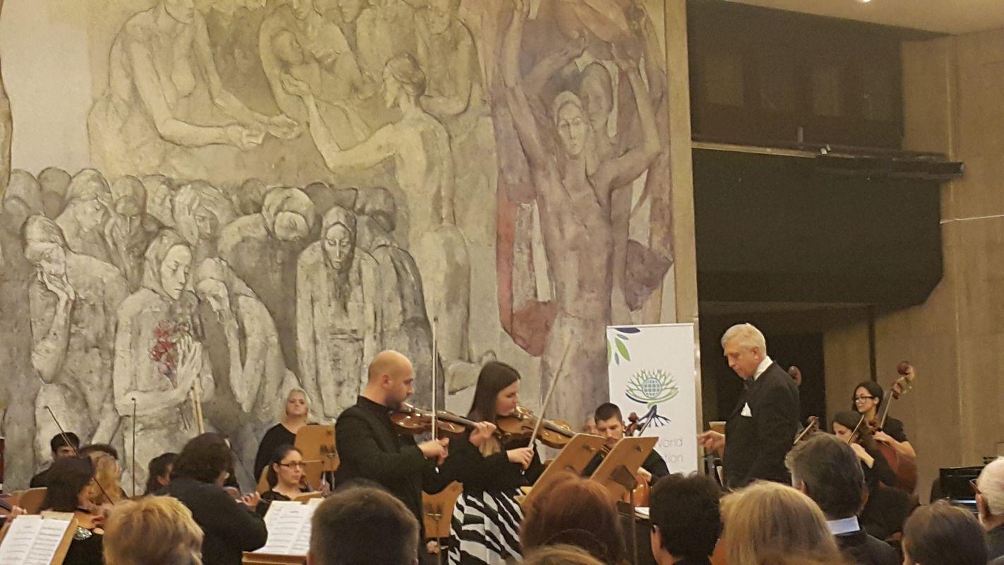 Част от младите таланти на България, взели участие в концерта